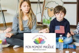 Amandine Ventadour consultante en parentalité - mon moment magique