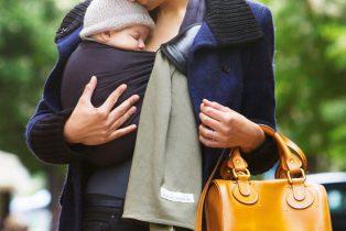Amandine Ventadour consultante en parentalité - portage bebe sling