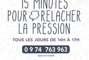 Amandine Ventadour consultante en parentalité - affiche hotline