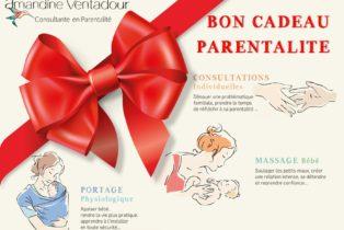 Amandine Ventadour consultante en parentalité - Vous cherchez un cadeau naissance original ?